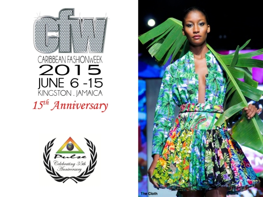 Caribbean Fashion Week 2015. Kingston, Jamaica