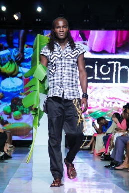Caribbean Fashion Week 2014. #inaboxtryingtogetoutofapattern