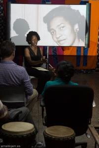Attillah Springer presenting On  Claudia Jones